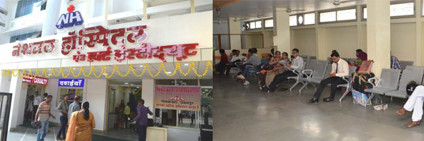 National Hospital Jabalpur Helpline